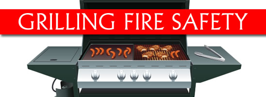 Fire safety grilling tips